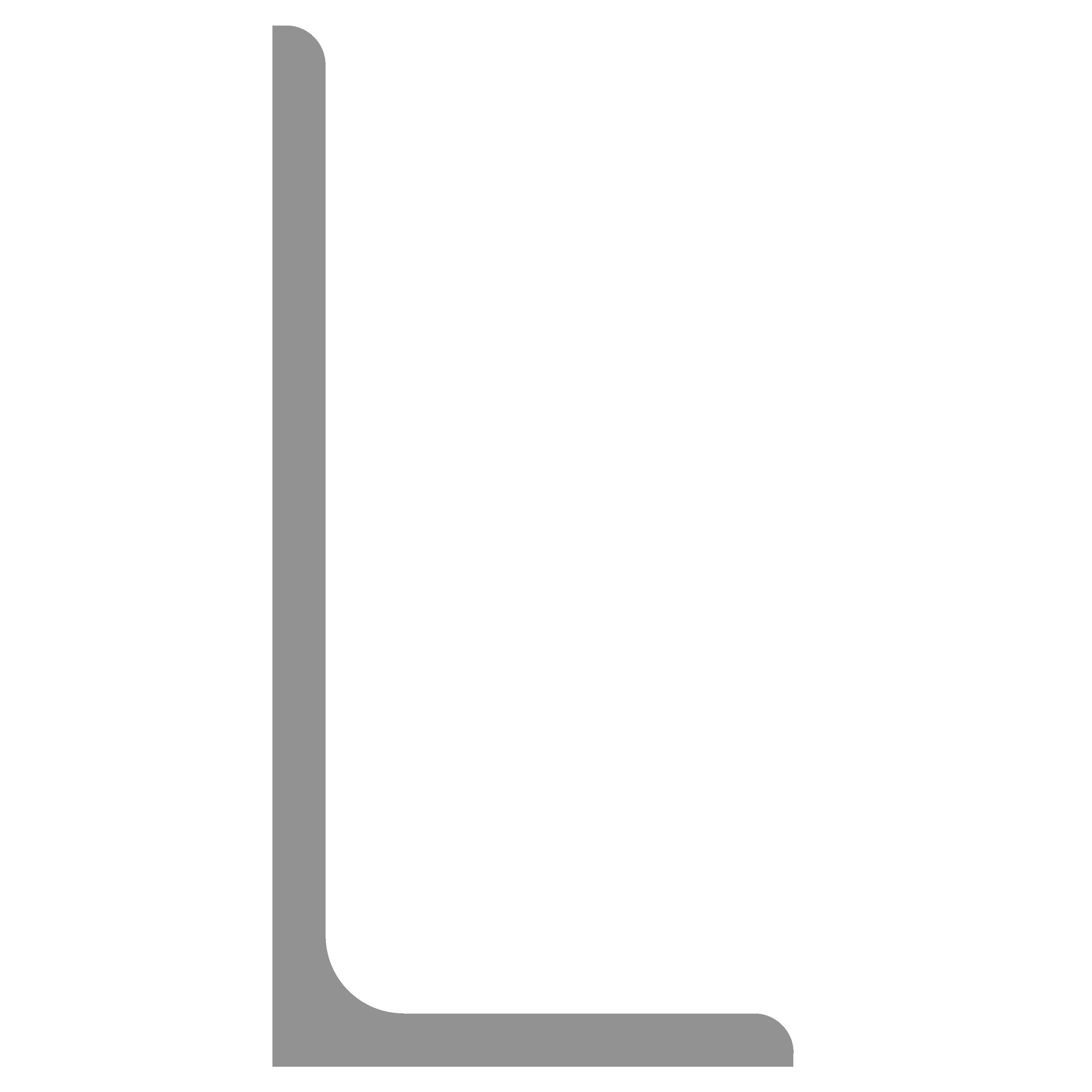 Hoeklijn thermisch verzinkt 200x100x10 mm